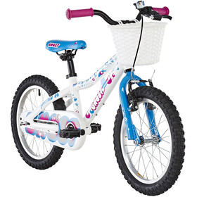 Ghost Powerkid AL 16 Enfant, star white/riot blue/dark fuchsia pink